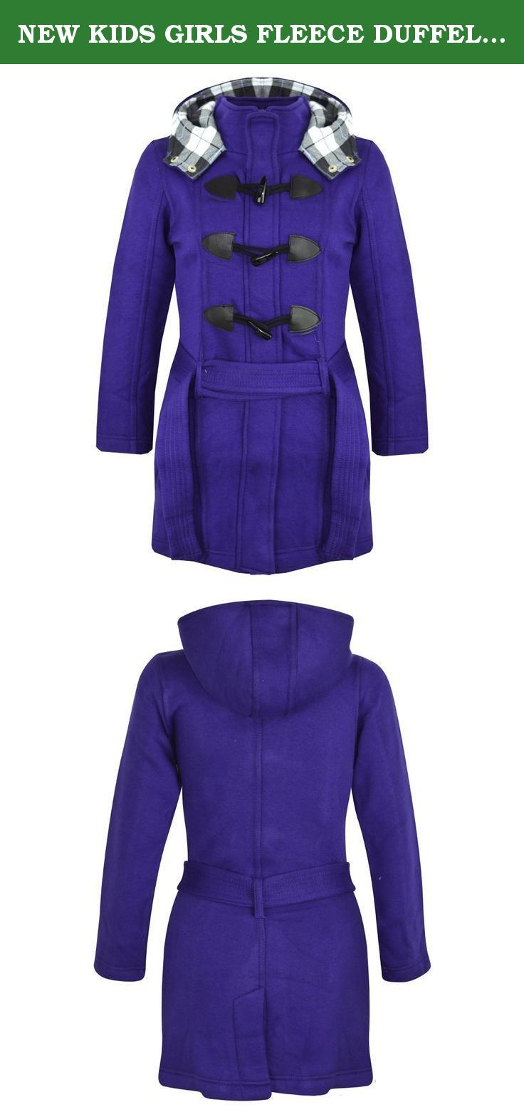 NEW KIDS GIRLS FLEECE DUFFEL COAT HOODED LONG BELTED JACKET SIZE 7-13 YEARS. Shop With ConfidenceSimple Returns30 Days Returns/Exchanges Accepted ?All Orders Dispatched Within 24 HOURS ?Here Is,NEW KIDS GIRLSDUFFEL COATHOODED LONG JACKET.Long Sleeve.Fleece Inside.A Lined Hood For Extra coziness.Button & Zip Fastener On Front.Two Pockets.Size 7-13 Years.Nice And WarmPerfect For All Seasons.A Nice Gift For All Girls.Thanks For Looking!!!!Check out my other items!.