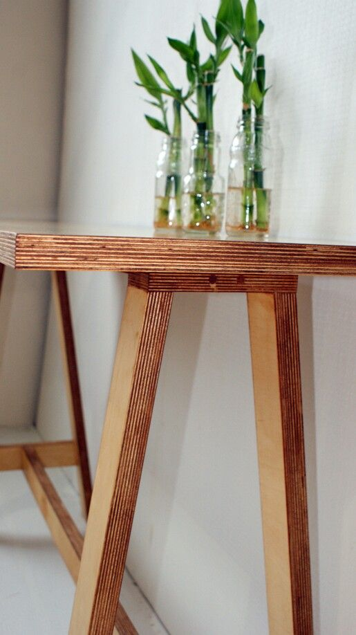 25 Best Ideas About Plywood Table On Pinterest