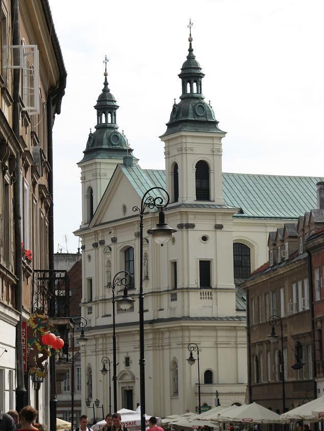 #Kościół dominikanów przy Freta, #Warszawa. #dominikanie #klasztor