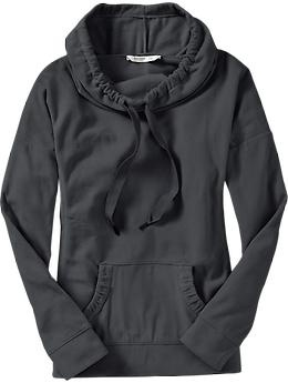 One of my most loved purchases yet!  So comfy and cute!!!  Old Navy - Women's Performance Fleece Cowl-Neck Top