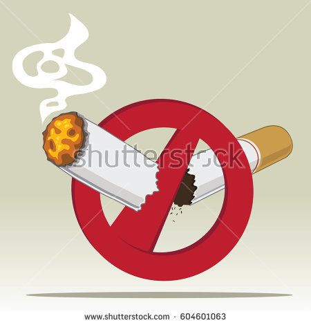 no smoking and no tobacco vector symbol design with a red circle and a broken cigarette smoke