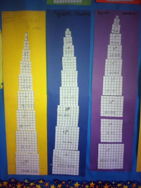 square numbers towers 3 pic