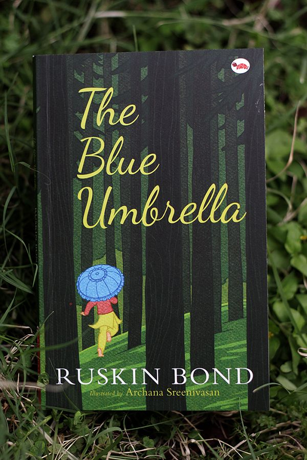 Here are some pics from the Ruskin Bond classic for children – 'The Blue Umbrella'. These were illustrated digitally, and I thoroughly enjoyed working on all three Ruskin Bond books with Red Turtle.