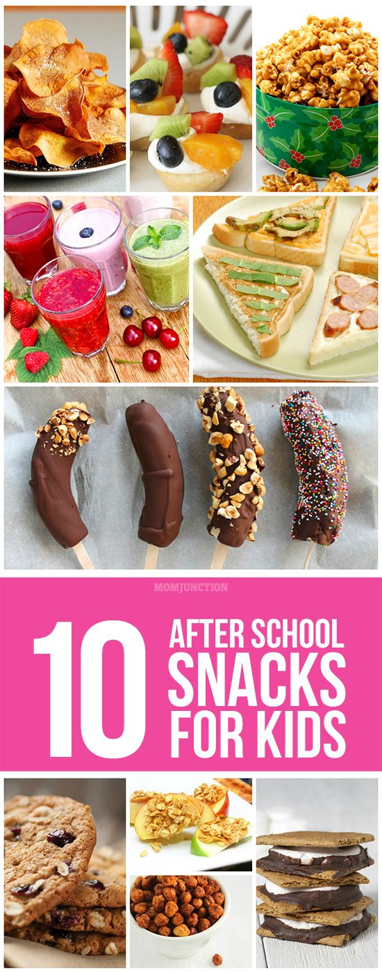 10 Yummy After School Snacks For Kids