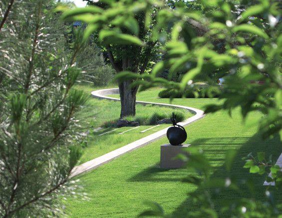 Rabbit House | Denver, USA | WERK | Charles Anderson Landscape Architecture #sculpture #house #garden #residential #lawn #turf
