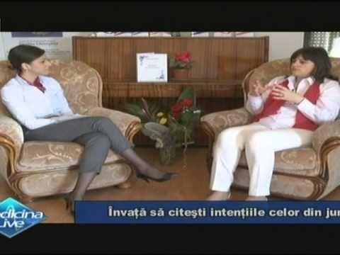 """Niculina Gheorghiţă la Medicina Live, """"Învaţă să citeşti intenţiile celo..."""