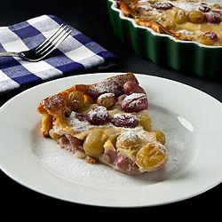 plum clafoutis fruit the misfits french classic blackberries berries ...