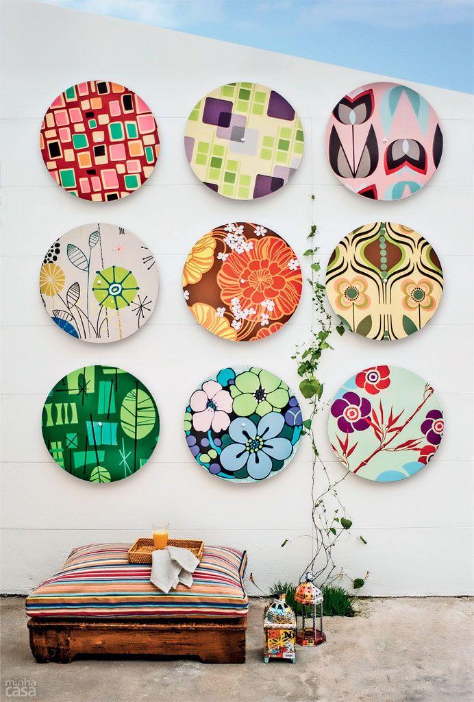 Das tradicionais composições de quadros ou pratos a um mix de objetos inusitados como latinhas, garrafas, caixas… Inspire-se em dez produções encantadoras