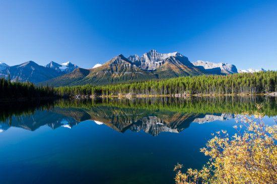 Montanhas Rochosas Canadenses da Cidade de Banff