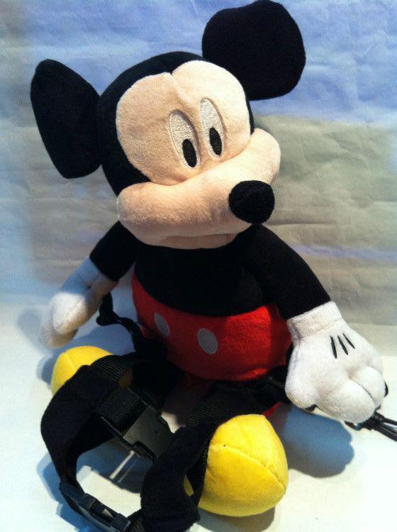 미키 마우스 하네스 버디 풍뎅이 2에서 배낭 마구 추구한다 고삐 아이 골키퍼 아기 가죽 끈 캐리어