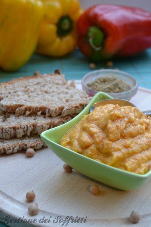 Hummus di peperoni