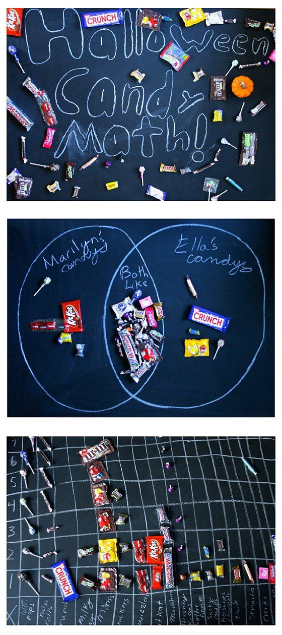 cant wait to try these halloween candy math challenges this year - Online Halloween Math Games