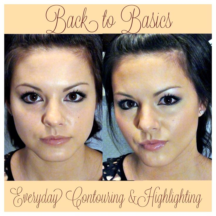 Back Basics Everyday Contouring Highlighting Hair
