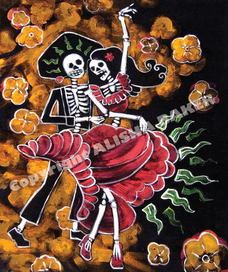 Dia De Los Muertos Dance Art Google Search Day Of The
