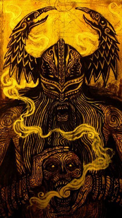 Odin is a major god in Germanic mythology, especially in Norse mythology.