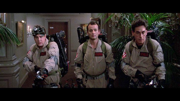 """Harold Ramis, Bill Murray and Dan Aykroyd in """"Ghostbusters"""" (1984)"""