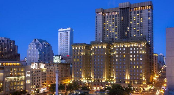 泊ってみたいホテル・HOTEL|アメリカ>サンフランシスコ>豪華なユニオンスクエアのホテル>ザ ウェスティン セント フランシス オン ユニオン スクエア(The Westin St Francis on Union Square)