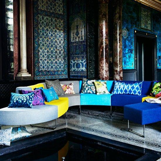 Bold, modernen Wohnzimmer Wohnideen Living Ideas Interiors Decoration