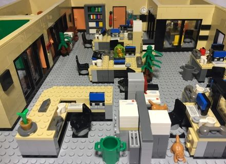 this lego proposal is based on nbcu0027s the office americau0027s quintessential workplace comedy developed by greg daniels and original from o