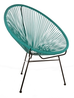The Matt Blatt Replica Acapulco Lounge Chair - Suitable for Outdoor use I WANT THIS SO FREAKING BAD!!