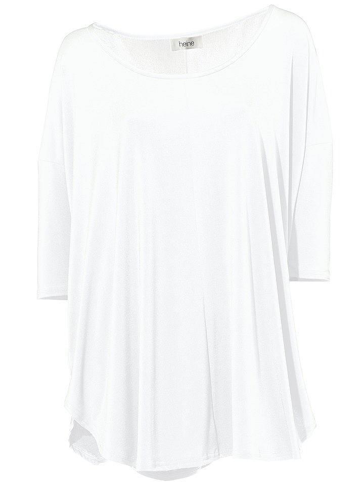 T-shirt femme ample à manches chauve-souris, col rond...