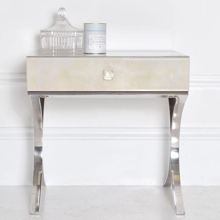 Little Silver Side Table