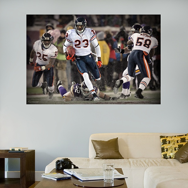 Fathead Chicago Bears Devin Hester Return Record   Wall Sticker, Mural, U0026  Decal Designs At Wall Sticker Outlet Part 56