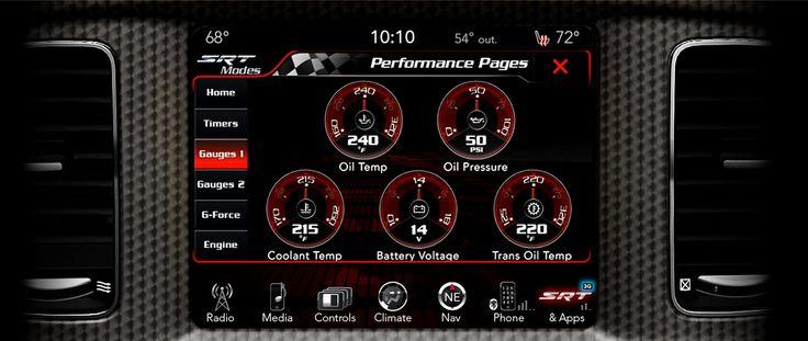 2015 Dodge Charger SRT Interior Display Visit http://www.jimclickdodge.com/