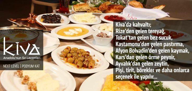 Kiva Ankara'dan size özel harika bir Pazar kahvaltısı!  Anadolu'nun eşsiz lezzetleriyle Pazar sabahınızın keyfini çıkarın!  #kiva #kivaankara #ankara #anatolia #anadoluyemekleri #ankararestaurant #yummy #yoreseltatlar #yoreselyemekler #turkey #turkiye #turkishcuisine #turkrestaurant #turkishrestaurant #nextlevel