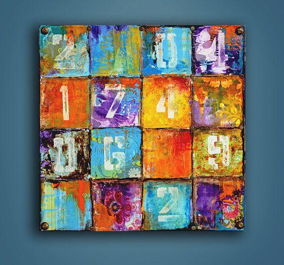 The 16th Block by erinashleyart on Etsy: Art Books, Abstract Paintings Ideas, Art Journals, Journals Ideas, Art Abstract, Guerilla Art, Erin Ashley Artists, 16Th Blocks, Art Art