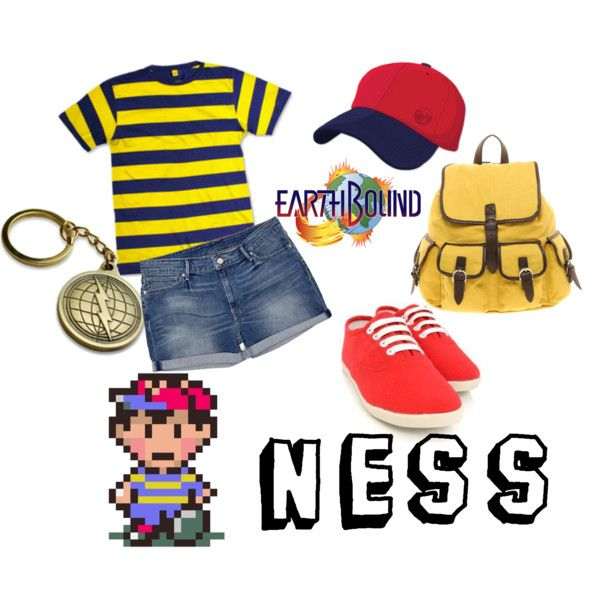 """""""Earthbound Ness"""" {Mother 2}  Wish I had that bag..."""