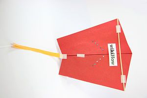 Make a Fast Kite with One Sheet of Paper Wolves Kite making E5