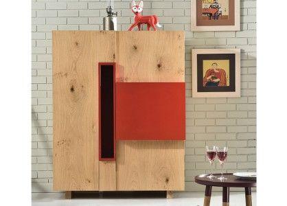 Commode & Buffet Design Buffet Haut en Bois Illusion - Design Tagged