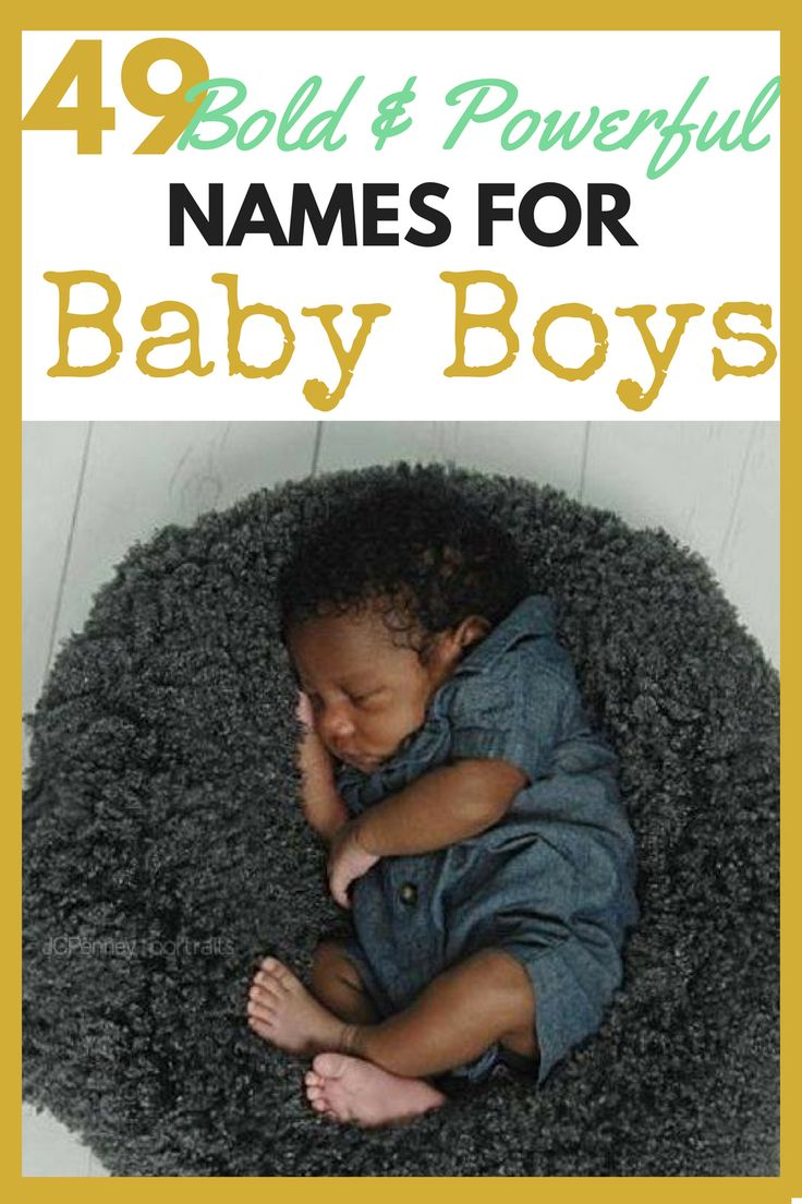 49 Names for African American Baby Boys in 2017 | themommiegoddess.com