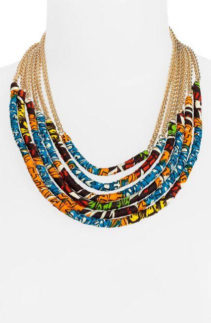 www.cewax.fr aime ces bijoux afro tendance, style ethnique. Dans le même style…