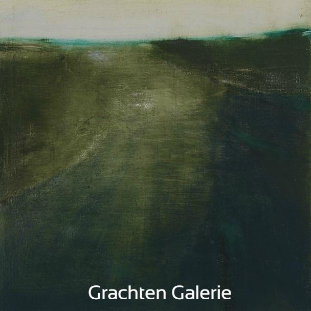 Z.t. 17 | Andre Hoppzak | Schilderij | Painting | Kunst | Art | Groen | Green | Wit | White