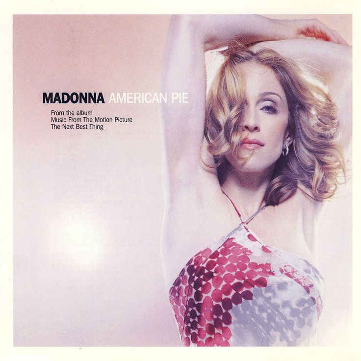Carátula Cd de Madonna - American Pie (Cd Single)