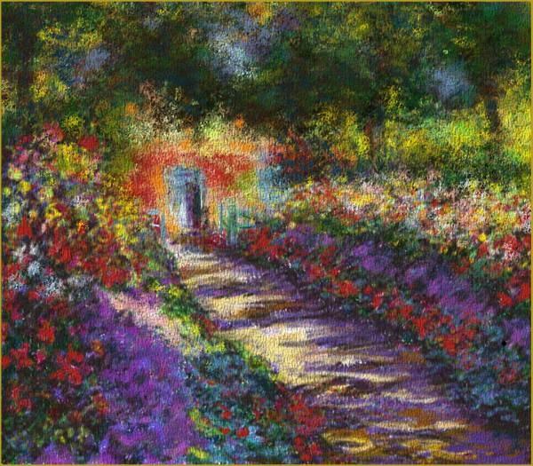 Monet, his garden is beautiful ... : Many, Bit, Inspiration, Beautiful, Art, Gardens, Things