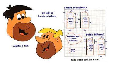 disfraz casero de los Picapiedra