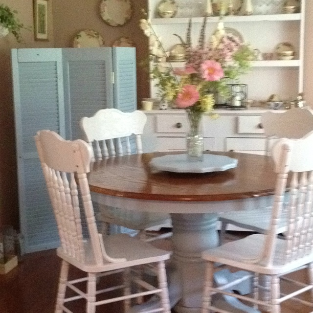 27 best Painted Kitchen Nook Table and Chairs Ideas images on