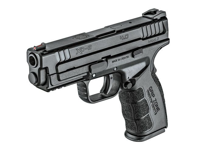 Go the distance with Springfield's new 16+1, 4-inch XD Mod.2 Service Model in 9mm!