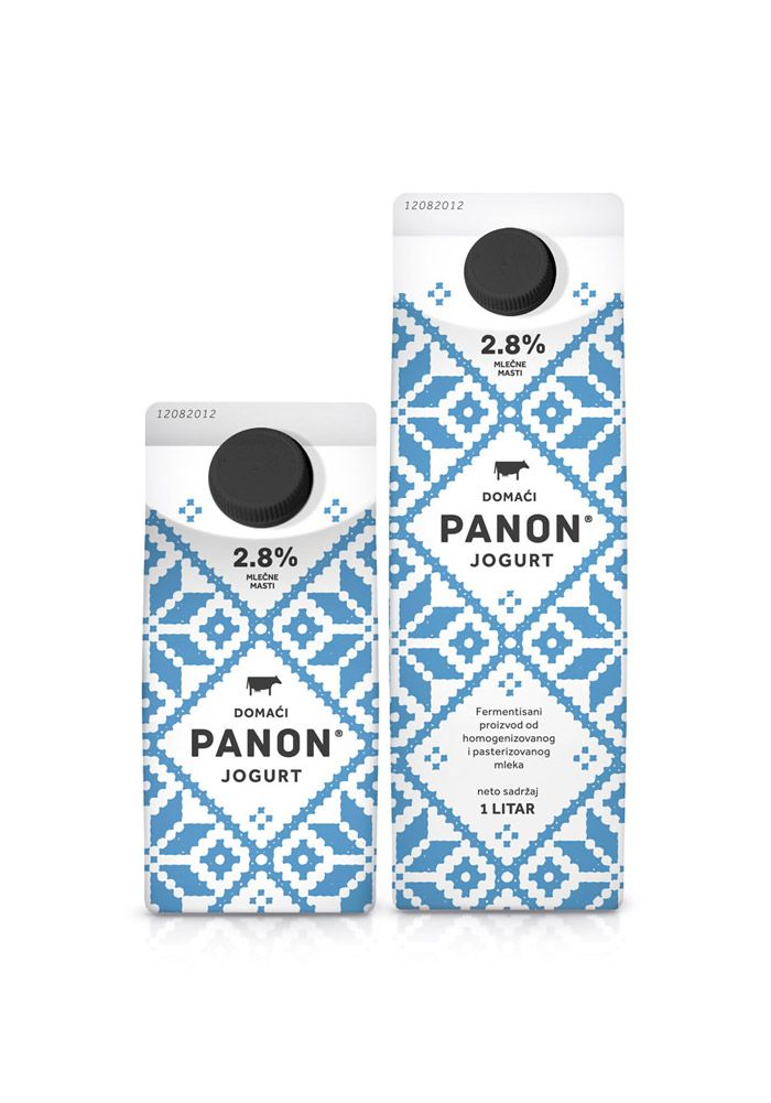 PANON Dairy. Lovely pattern