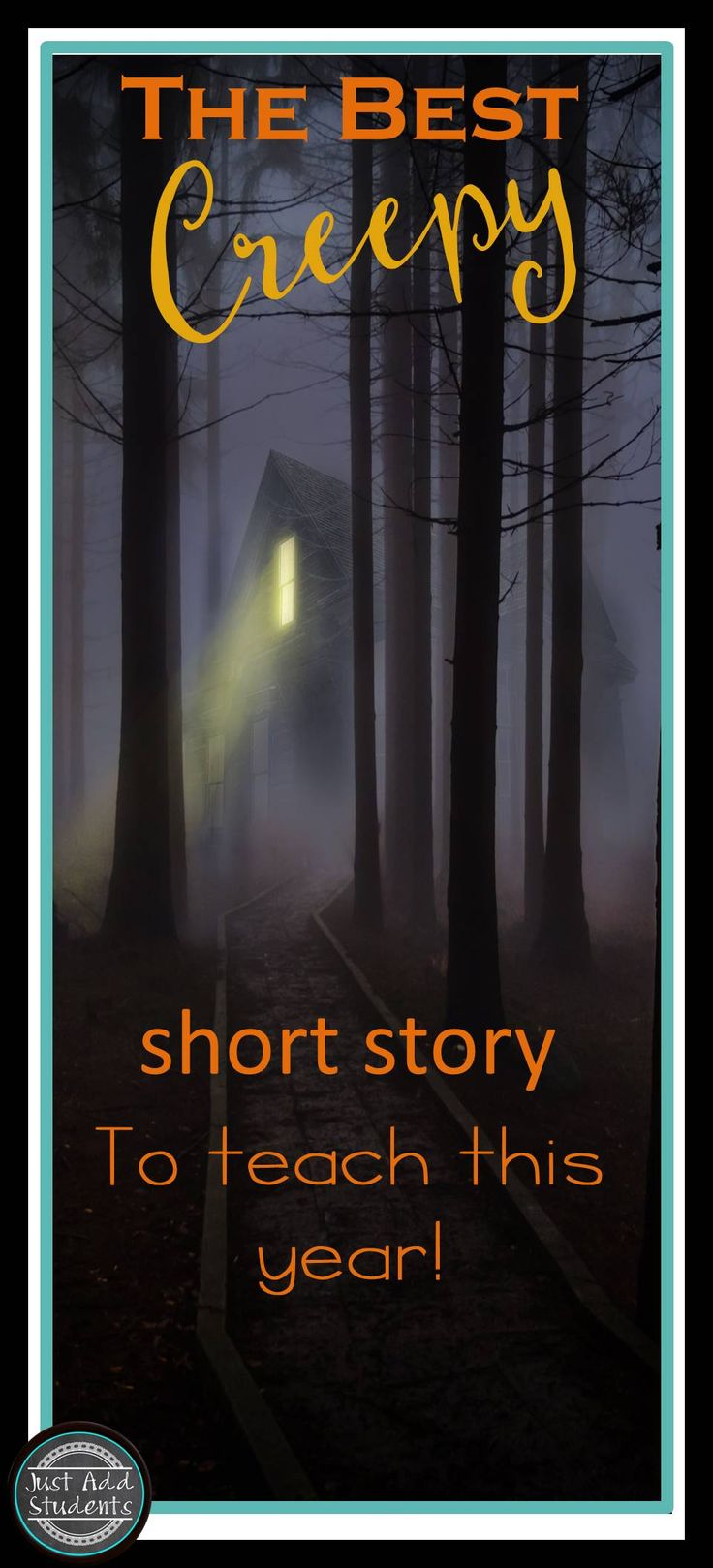 """Students love this creepy short story!  """"The Monkey's Paw"""" is a perfect short story for Halloween!  This printable lesson is no prep and students love reading and discussing this scary tale!  Great idea to keep students focused during the Halloween season!"""