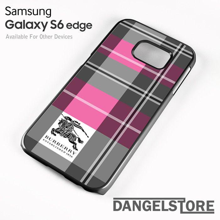 Burberry Phone Case Galaxy S6