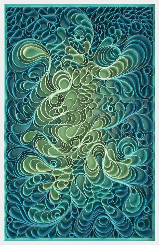 Original artwork, sculpture, seattle, jason hallman, stephen stum, deep blue sky, Poseidon, blue art, green art