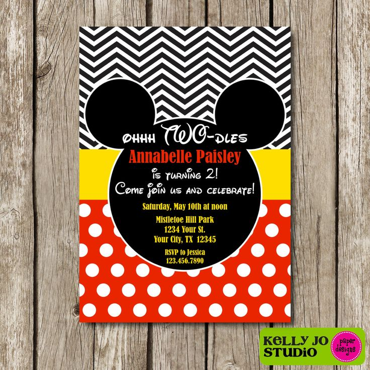 Best 25+ Mickey mouse invitation ideas on Pinterest Mickey mouse - mickey mouse invitation template