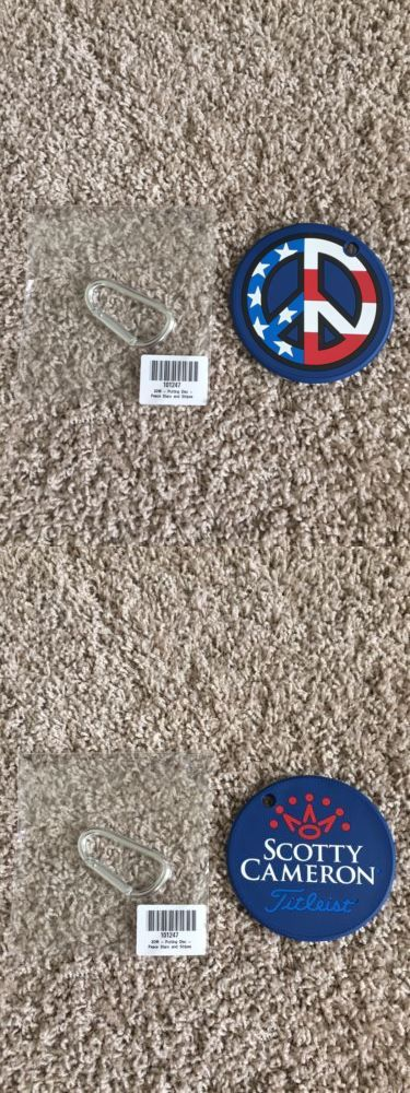 Other Golf Accessories 1514: 2016 Scotty Cameron Us Open Putting Disk Bag Tag -> BUY IT NOW ONLY: $100 on eBay!