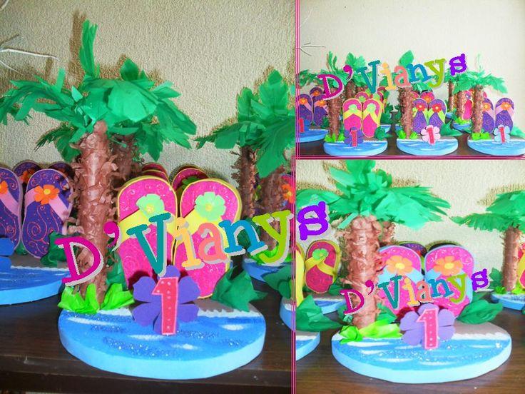 Decoracion Hawaiana Manualidades ~ M?s de 1000 im?genes sobre DECORACION FIESTAS HSWAIANAS en Pinterest