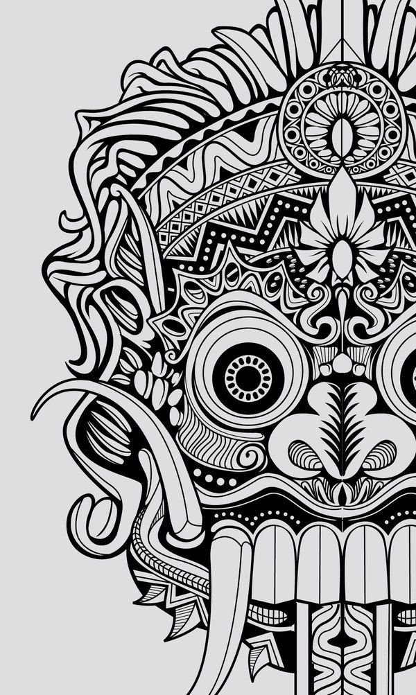 barong drawing tattoo pinterest student centered resources and drawings. Black Bedroom Furniture Sets. Home Design Ideas
