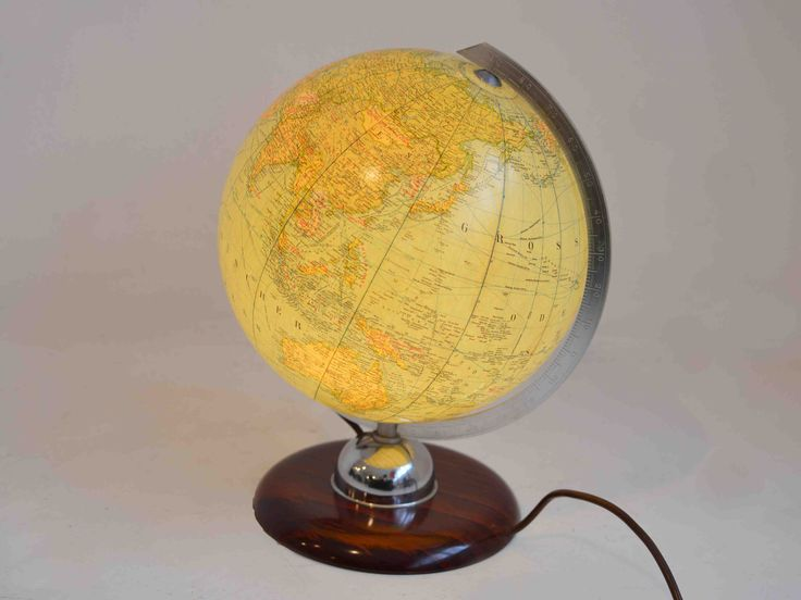 1950s Belgium Globes | Belgium Six 1950s Belgium Globes fully electrified |